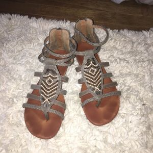 Shoes - Brownish/grey sandals